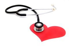 Saúde do coração Fotos de Stock