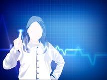 Saúde e fundo médico Imagens de Stock Royalty Free