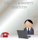 Saúde e segurança ilustração royalty free