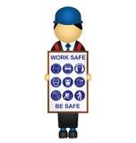 Saúde e segurança Imagem de Stock Royalty Free