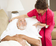Saúde Home - conforto paciente Fotos de Stock Royalty Free