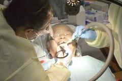 Saúde livre e clínica dental Imagem de Stock Royalty Free
