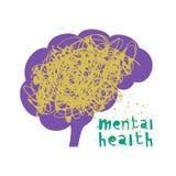 Saúde mental Ilustração do vetor Ilustração do Vetor