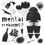 Saúde mental Ilustração do vetor Ilustração Royalty Free