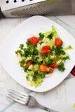 Sałatka świezi warzywa Fotografia Royalty Free