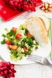 Sałatka świezi warzywa Obrazy Royalty Free