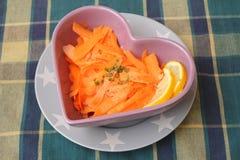 Sałatka marchewki zdjęcie stock