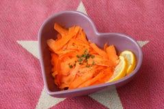 Sałatka marchewki zdjęcia stock