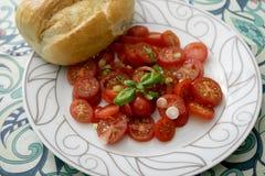 Sałatka pomidory obrazy royalty free