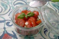 Sałatka pomidory obrazy stock