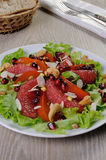 Sałatka sałata z owoc i dokrętkami Obrazy Stock