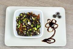 Sałatka venus ryż fotografia stock
