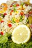 sałatka z ryżu Obrazy Royalty Free
