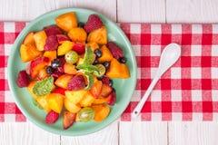 sałatkowe świeże jagod owoc Obraz Royalty Free