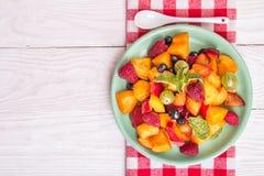 sałatkowe świeże jagod owoc Fotografia Royalty Free