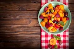 sałatkowe świeże jagod owoc Fotografia Stock
