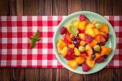 sałatkowe świeże jagod owoc Obrazy Stock