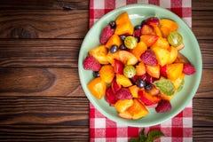 sałatkowe świeże jagod owoc Obrazy Royalty Free