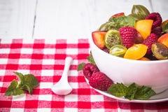 sałatkowe świeże jagod owoc Zdjęcia Stock