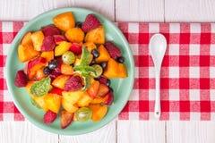 sałatkowe świeże jagod owoc Zdjęcie Stock