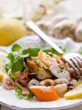 sałatkowy owoce morza Zdjęcie Stock