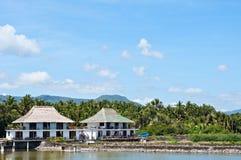 sa圣胡安Balai在八打雁省,菲律宾 免版税库存图片