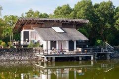 sa圣胡安Balai在八打雁省,菲律宾 免版税库存照片