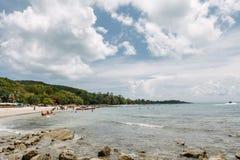 Sa遇见的海岛在泰国 库存照片