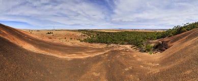 SA μέσο πανόραμα vert ΑΜ Wudinna Στοκ Φωτογραφίες