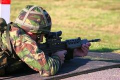 SA 80 firing Stock Image