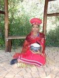 SA Afrique du Sud de pose modèle traditionnelle Photos libres de droits