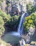 Sa`ar Waterfall in Israel stock photography