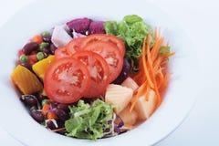 Sałatka, warzywa Fotografia Royalty Free