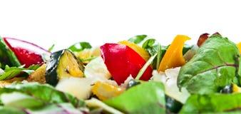 Sałatka z piec na grillu zucchini szpikiem kostnym Obrazy Royalty Free
