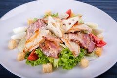 Sałatka z warzywami dla restauraci Zdjęcia Royalty Free