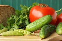 sałatkowi warzywa Obrazy Stock