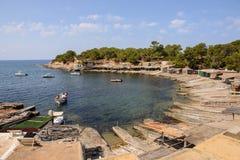 Sa Caleta Ibiza Royalty-vrije Stock Foto