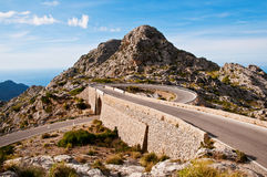 Sa Calobra Royalty Free Stock Images