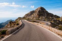 Sa Calobra Royalty Free Stock Photo