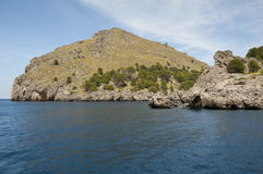 Sa Calobra bay Royalty Free Stock Photography
