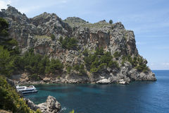 Sa Calobra bay Royalty Free Stock Photo