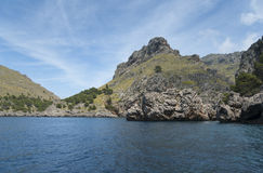 Sa Calobra bay Royalty Free Stock Photos