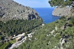 Sa Calobra, Majorca island,Spain Royalty Free Stock Photo