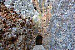 Sa Calobra, Majorca island,Spain Stock Photos