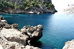 Sa Calobra - Mallorca Fotos de Stock Royalty Free
