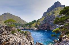 Sa Calobra - Mallorca Stock Foto's