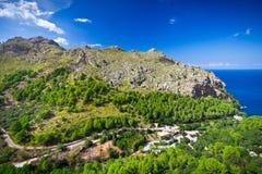 Sa Calobra on Mallorca Island Stock Image