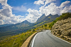 Sa Calobra on Mallorca Island, Spain. Beautiful view of Sa Calobra on Mallorca Island, Spain Stock Photography