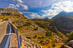 Sa Calobra on Mallorca Island, Spain Royalty Free Stock Images