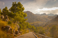 Sa Calobra on Mallorca Island, Spain Stock Images